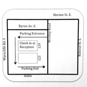 Wortley Wellness Centre Location Map